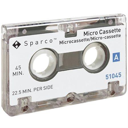 Cassette dictation 45 minutes