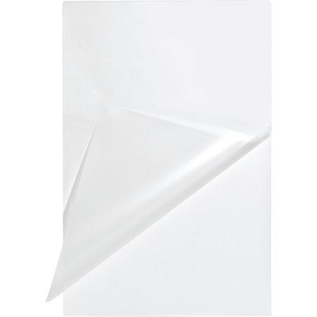 Pochettes de plastification de taille menu