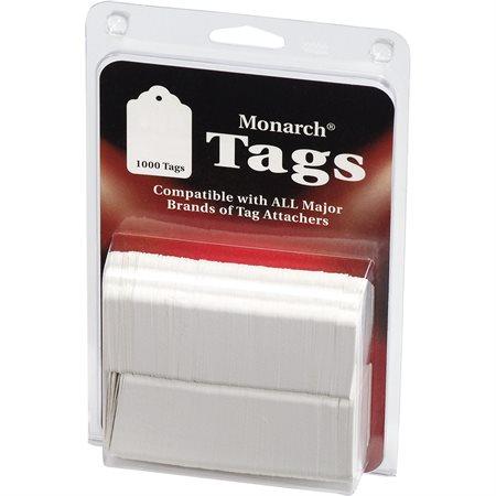 Stringless White Tags