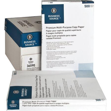 """Papier photocopie BUSINESS SOURCE® Boîte de 2500 (5 paquets de 500) 11 x 17"""""""