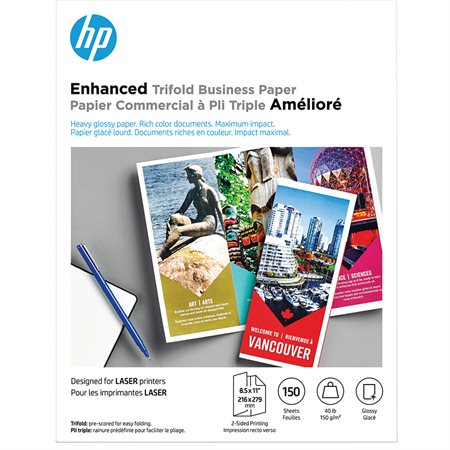 HP Enhanced Tri-Fold Business Paper