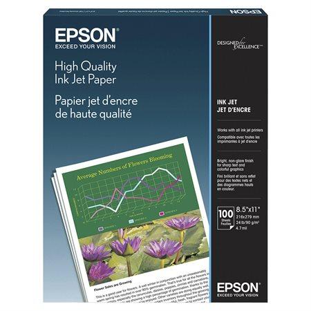 Papier photo Epson 26 lb pqt 100