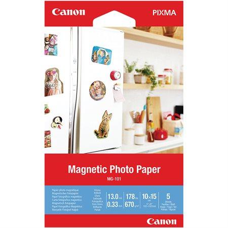 Papier photo magnétique