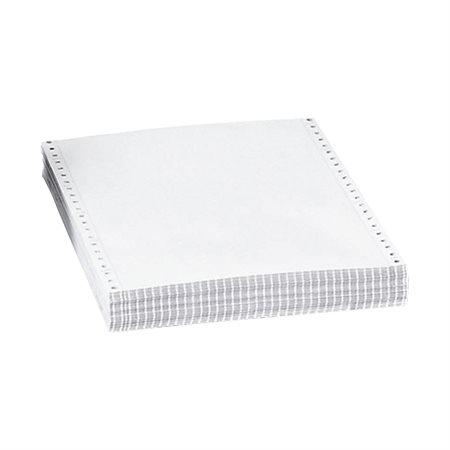 Papier continu autocopiant à impression matricielle