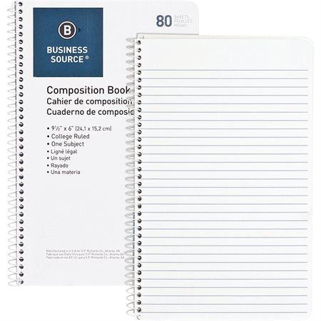 Cahier de rédaction