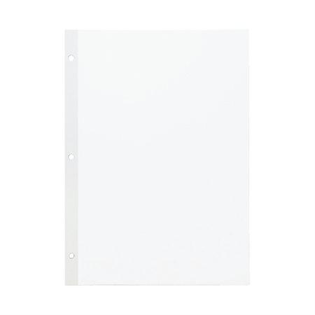LOOSELEAF 3H PLAIN 11x8.5  *1C