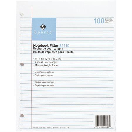 LOOSELEAF RFL 11x8.5 CR *1C / PK