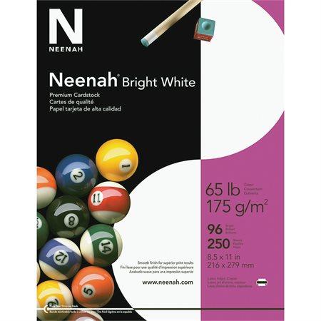 Papier couverture blanc brillant Neenah®