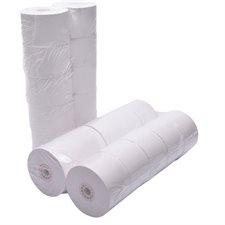 Rouleau de papier pour calculatrice et caisse enregistreuse Paquet de 10 1-3/4 po  x 150 po x 1.73 po