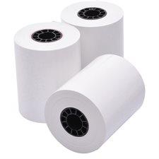 """Rouleau de papier thermique 2-1/4"""" X 165' Paquet de 3"""