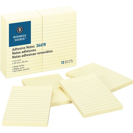 Self Adhesive Note Pads Yellow