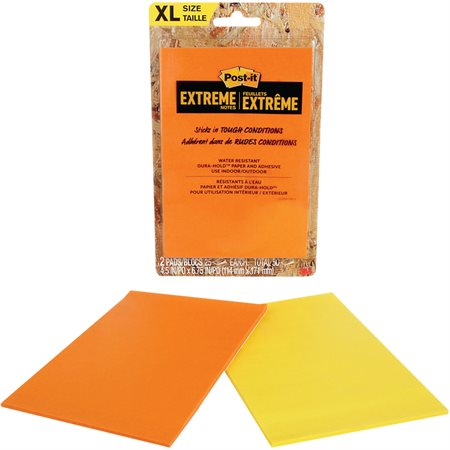 Feuillets Post-it Extreme Notes XL