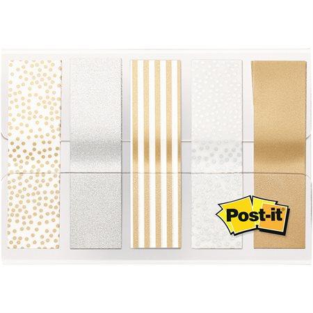 Languettes de couleur métalliques Post-it®