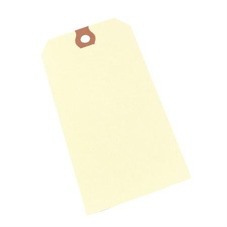 """Étiquettes d'expédition en papier manille 4-3 / 4 X 2-3 / 8"""""""