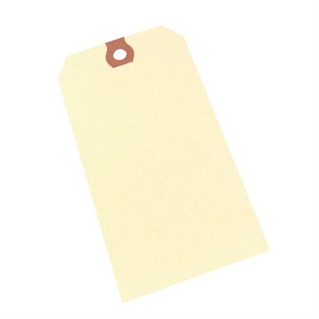 """Étiquettes d'expédition en papier manille 5-1 / 4 X 2-5 / 8"""""""