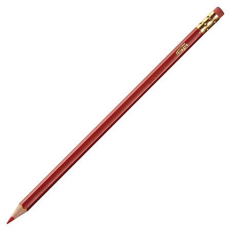 Crayons de correction rouge