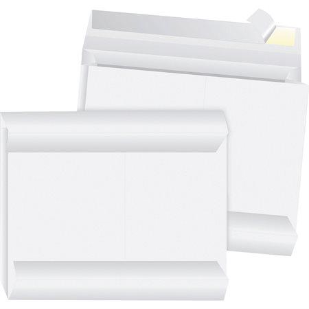 Enveloppe en Tyvek® expansible Ouverture sur le côté. 10 x 13 x 2 po. (100)