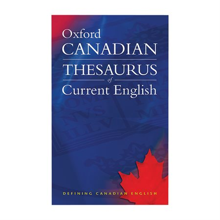 Dictionnaire anglais The Canadian Oxford Thesaurus