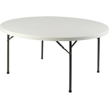 Table pliante Ultra-Lite Ronde 60 po. diamètre