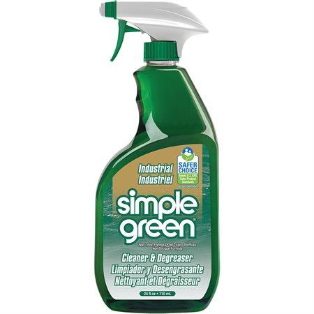 Nettoyant et dégraissant tout usage industriel Simple Green® vaporisateur 24 oz