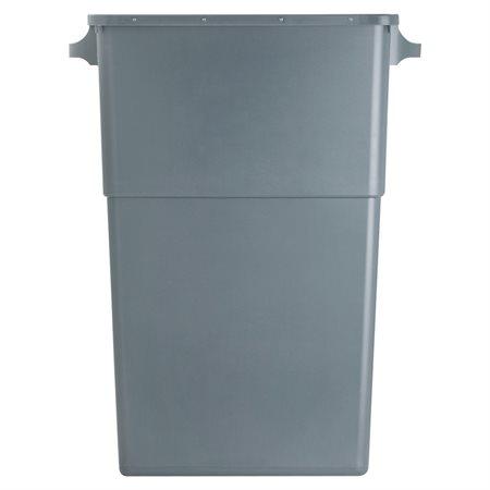 Conteneur à déchets et couvercle