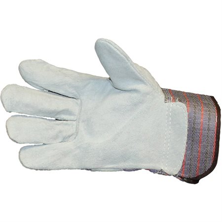 Leather Plan Wth Safety Cuff Gloves