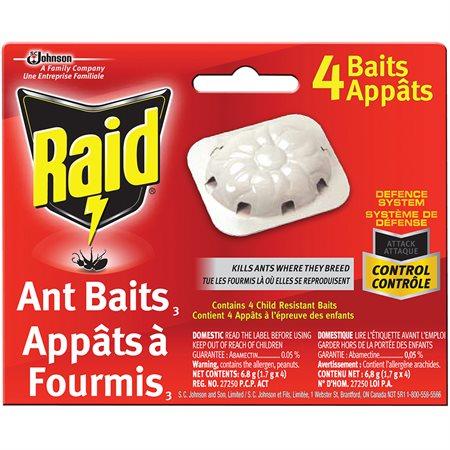 Appât pour fourmis Raid®