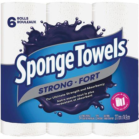 SPONGE TOWELS  6ROLLS 64sht