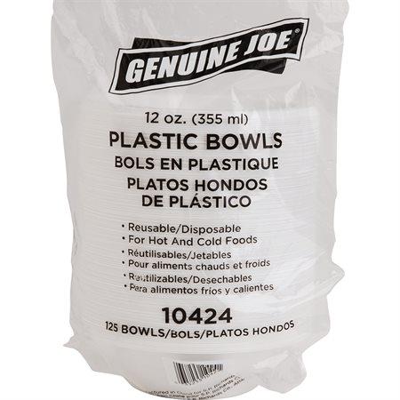 Bols en plastique