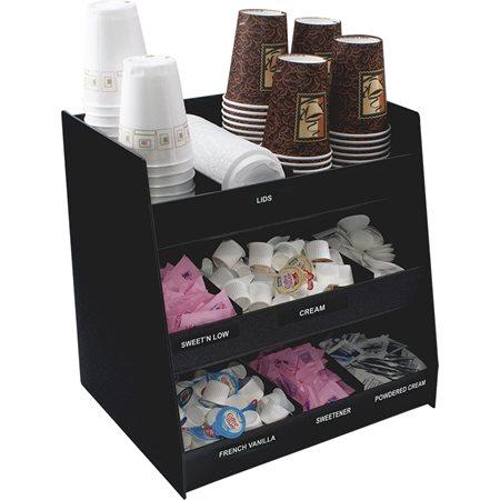 Vertical Coffee Condiment Organizer