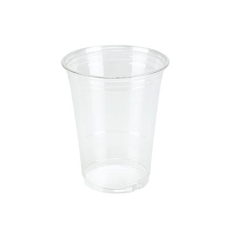 Gobelets en plastique transparent