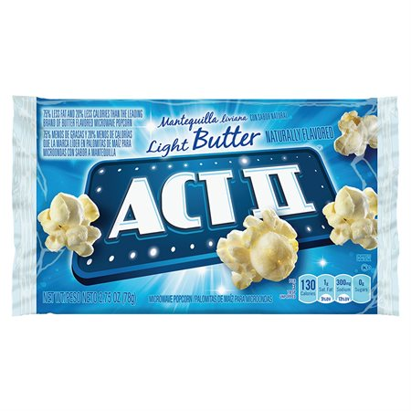 ACT II BUTTER POPCORN PACKS @36