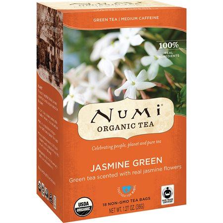Thé biologique Numi Thé vert Jasmin vert