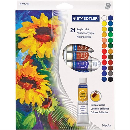 Acrylic Paint Tube Set
