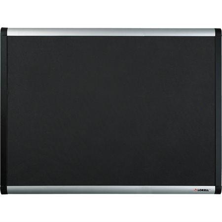 Tableau d'affichage recouverts de tissu à mailles noires