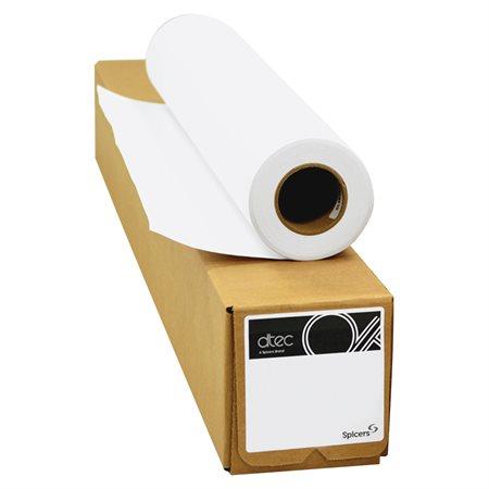 "Papier grand format dtec® Mandrin 3"" 24"" x 500' Rubané"