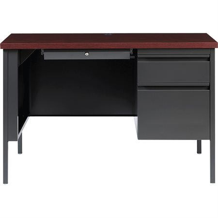 Fortress Single Pedestal Desk