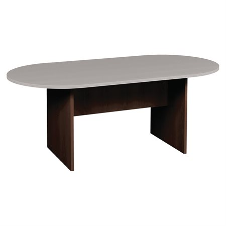 Table ovale extensible