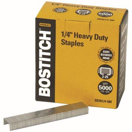 STAPLES  for B300  1 / 4 *5M / BX