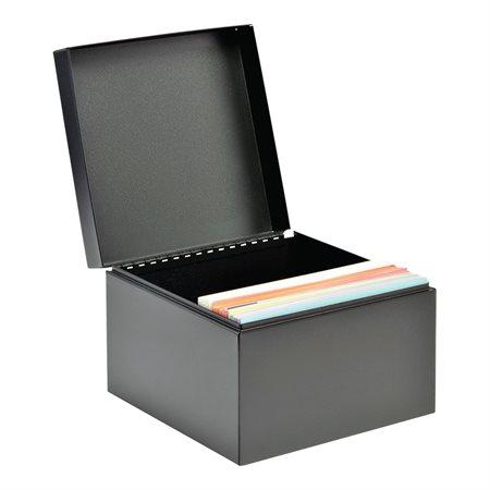 Boîte de rangement pour fiches 5 x 8 po. capacité de 900