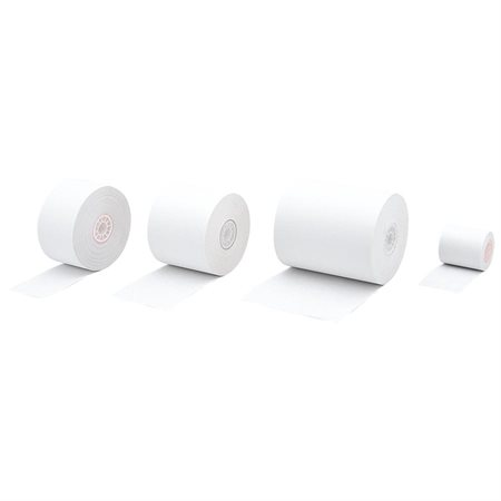 "Cash Register and Calculator Paper Roll Package of 5 2-1 / 4"" x 125' x 2-3 / 4"" dia."