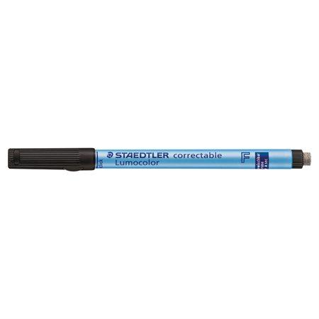 Marqueur effaçable Lumocolor® Pointe fine. 0,6 mm noir