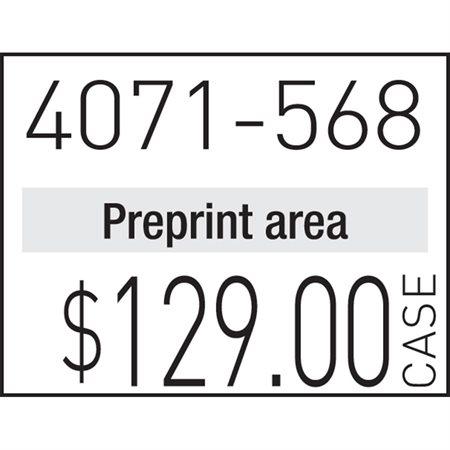 Étiquettes pour pistolet à étiqueter 1136 Amovible blanc