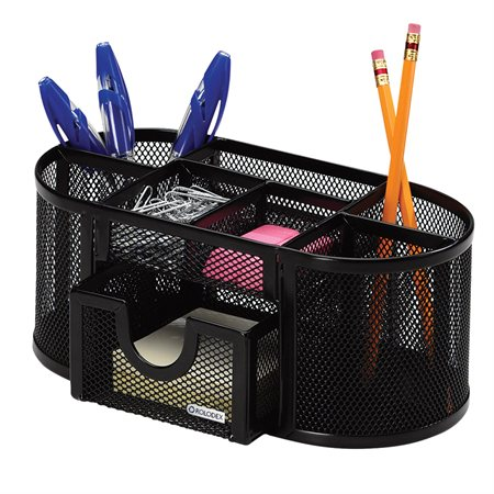 Mesh Oval Pencil Cup / Supplies Caddy