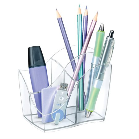 Ellypse Crystal Pencil Cup