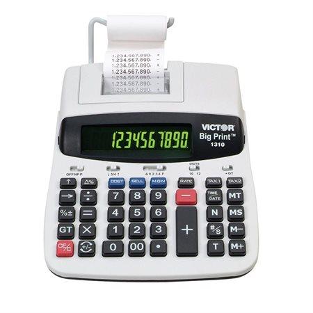 Calculatrice à imprimante Big Print 1310