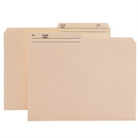 Recycled Reversible File Folders