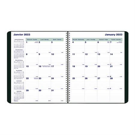 "Agenda mensuel 16 mois (2019) 9-1 / 4 x 7-1 / 4"""