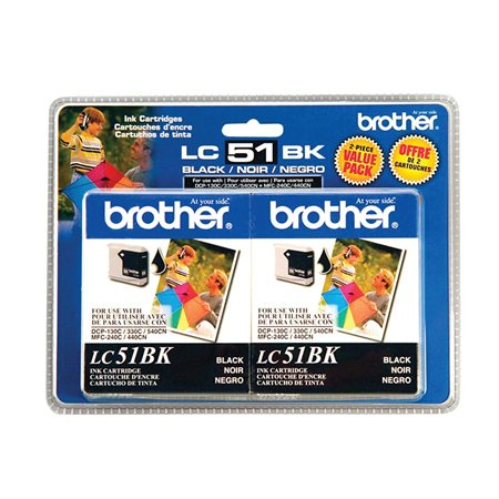 LC512PKS Ink Jet Cartridge Twin Pack