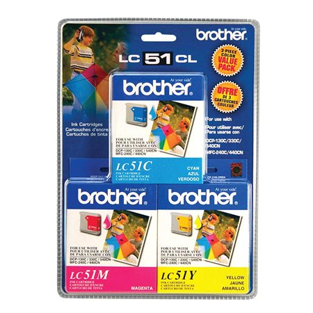 LC513PKS Ink Jet Cartridge Tri Pack